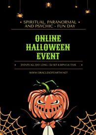 Free Online Halloween Event - Music and Prizes