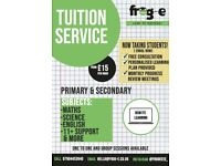 Private Tuition (Maths,Science,English)