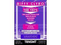 TRNSMT Sunday day ticket - Biffy Clyro