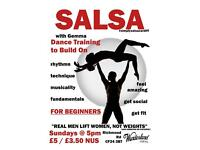 Salsa class for beginners