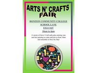 Arts n' Crafts Fair, Honiton Community College