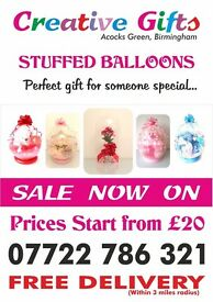 Easter Stuffed Balloon Gift Present Idea