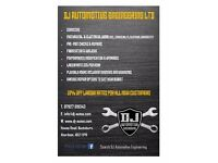 DJ Automotive Engineering for you car repairs