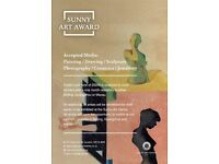 Open Call - Sunny Art Prize - £6,000 is awarded to the art prize winners.