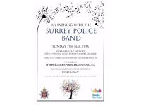 An evening with Surrey Police Band, Deepcut
