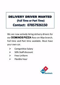 Delivery Driver (Part Time or Full Time)