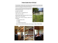 Garden Office FOR SALE 3.60m x 5.40m Fully Insulated - Summer House, Garden Room or Home Office.