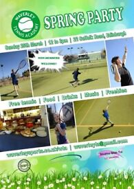 Tennis party (open day)