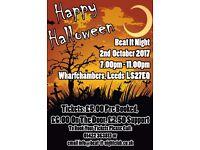 Beat It Night Leeds Halloween Theme!