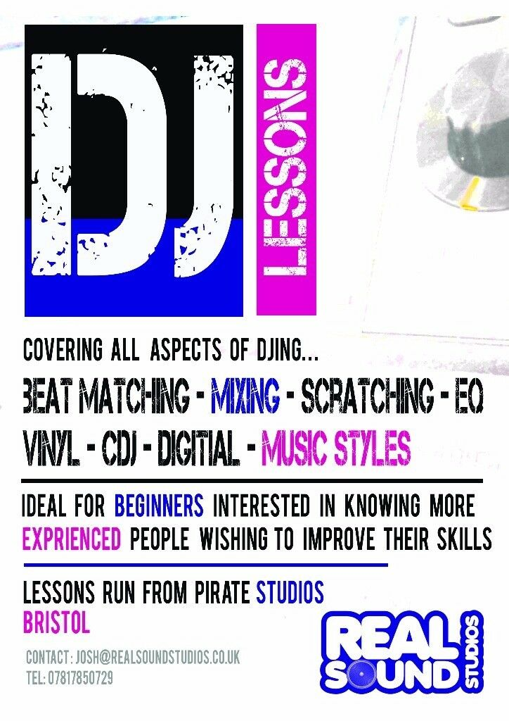 DJ and Music production lessons