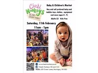 A Cheeki Monkeys Baby&Childrens Market Feb 11th N8