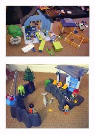Playmobil Animal Clinic & Dolphin Basin