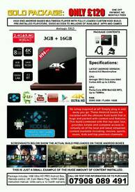 Android Boxes fully loaded with Kodi