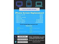 Professional iPhone Screen Replacements