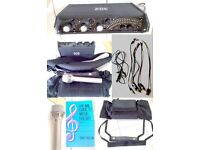 Sound device 302 mixer and accessories