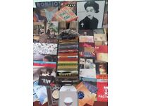 Vinyl record collection: Rock/Pop LPS & Singles: loads of classics! Plus few Classical/Jazz LPS/78s