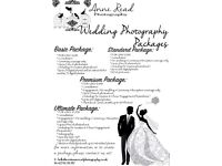 WEDDING AND SPECIAL EVENT PHOTOGRAPHY AND VIDEOGRAPHY FROM £250 WITH GREAT PACKAGE!!!