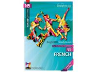 Bright Red National 5 Study Guides for French and Chemistry