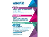 Wireless Music Festival Tickets (SOLD OUT EVERYWHERE ELSE)