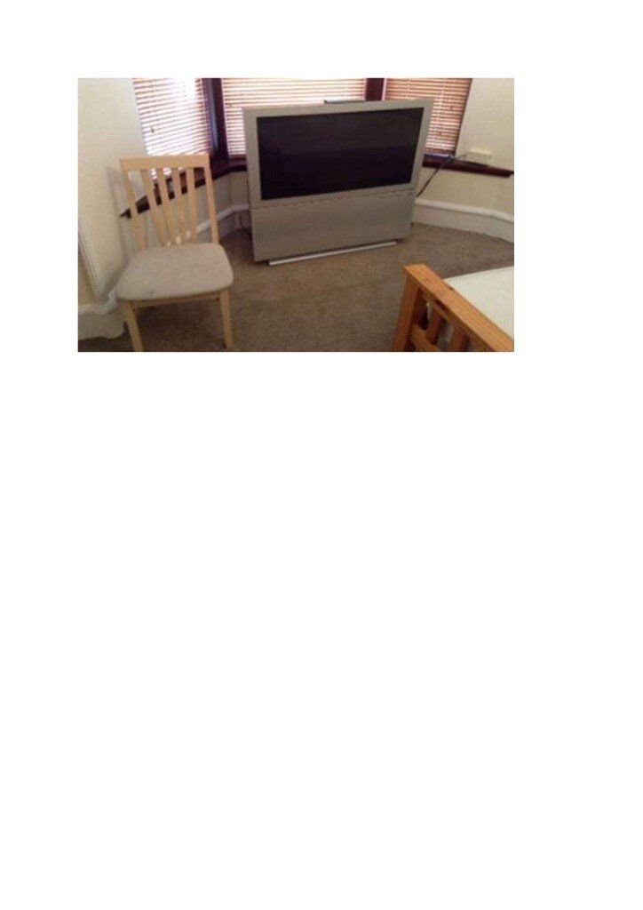 """FREE 44"""" CRT SONY FREEVIEW TV (pick-up only)"""