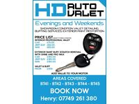 HD AUTO VALET & BUFF SERVICES