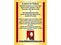 Salsa classes in Cardiff