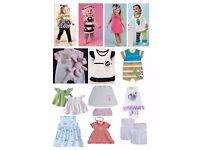Job Lot of Baby Clothing and Girls Clothing, hair accessories etc great for Market Stall/Shop/Ebay