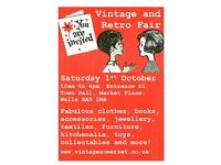 Vintage and Retro Fair