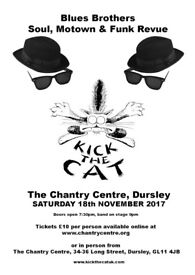 Kick The Cat gig, Dursley
