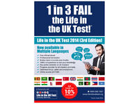 Life in the UK Test GUARANTEED PASS Translated in Urdu/ Arabic/ Punjabi/ Tamil/Nepali