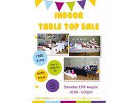 Indoor Table Top Sale - Neath
