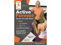 Senior Circuits exercise classes at Park Club Milton
