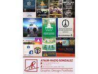 Graphics Designer/VFX artist available for work!
