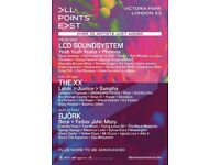 All Points East Festival Ticket Sunday Bjork