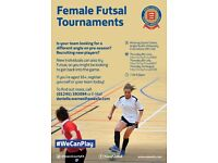 Female Futsal Tournament