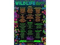 WILDLIFE FESTIVAL WEEKEND TICKETS AND SHUTTLE BUS!