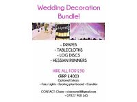 WEDDING DECORATION BUNDLE