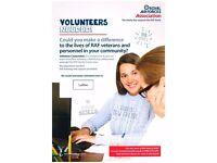 Volunteer Caseworker - Ludlow Shropshire - RAF Association