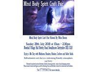 Mind,Body,Spirit and Craft Fair