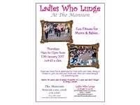Ladies Who Lunge. Fun Fitness for Mums & Babies.