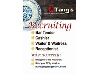 NEW Chinese buffet restaurant is looking for part time staffs