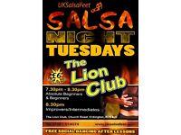 Tuesday Beginners Salsa Classes ( Erdington)