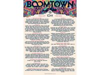 Boomtown Weekend Ticket