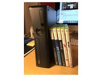 Xbox 360 , 6 games and 3 controllers £70