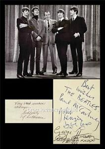 THE-BEATLES-JOHN-LENNON-McCARTNEY-HARRISON-STARR-ED-SULLIVAN-SIGNED-PRINTED