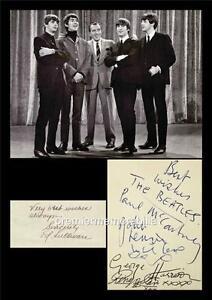THE-BEATLES-JOHN-LENNON-McCARTNEY-HARRISON-STARR-ED-SULLIVAN-SIGNED-PRINTED