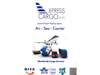 Cargo Services from UK to Worldwide