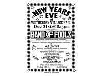 New Years Eve at Wetherden Village Hall