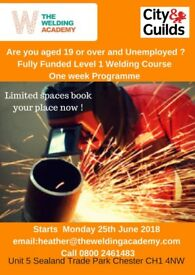 City and Guilds Fully Funded (Free) Welding and Fabrication Course
