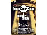 1x ocean colour scene ticket